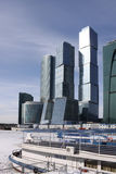 centrum biznesu miasto Moscow Zdjęcie Stock