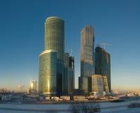 centrum biznesu Moscow Fotografia Royalty Free