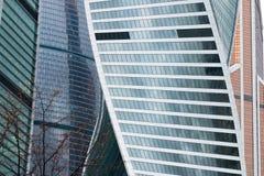 centrum biznesu zawody międzynarodowe Moscow miasto dzień Kreml Moscow zewnętrznego Obraz Stock