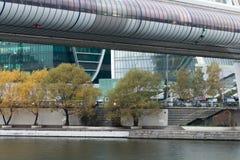 centrum biznesu zawody międzynarodowe Moscow miasto dzień Kreml Moscow zewnętrznego Zdjęcia Stock