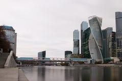 centrum biznesu zawody międzynarodowe Moscow miasto dzień Kreml Moscow zewnętrznego Obraz Royalty Free