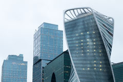 centrum biznesu zawody międzynarodowe Moscow miasto dzień Kreml Moscow zewnętrznego Fotografia Stock
