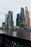 centrum biznesu zawody międzynarodowe Moscow miasto dzień Kreml Moscow zewnętrznego Obrazy Stock