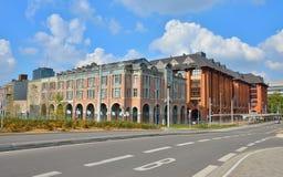 Centrum Charleroi Obraz Royalty Free