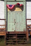 centrum cywilnej starej szkoły drzwi Zdjęcia Stock