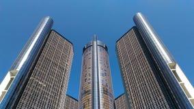 centrum Detroit ren Obrazy Stock
