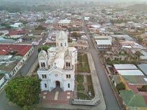 Centrum Diriamba miasteczko Fotografia Stock