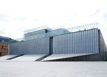 Centrum dla spotkania kultury w Lublin obrazy royalty free