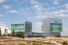 Centrum dla sztuki i technologii w Zaragoza Obrazy Stock