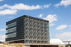 Centrum dla sztuki i technologii w Zaragoza Zdjęcia Stock