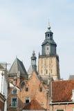 Centrum of Dutch Zutphen Royalty Free Stock Photo