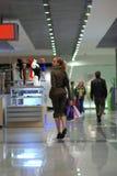 centrum dziewczyny na zakupy Fotografia Stock