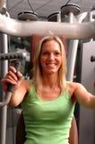 centrum fitness pretty woman fizycznej zdjęcia stock