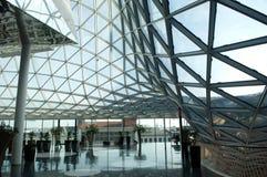 centrum futurystyczny zakupy Fotografia Stock