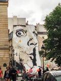 Centrum Georges Pompidou Paris Royalty-vrije Stock Foto's