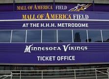 Centrum handlowe Ameryka pola wejście Fotografia Stock