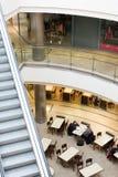 centrum handlowe multilevel zakupy Fotografia Royalty Free