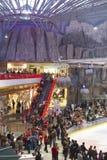 Centrum handlowe scena zdjęcie royalty free