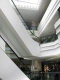 Centrum handlowe schodki Zdjęcie Stock