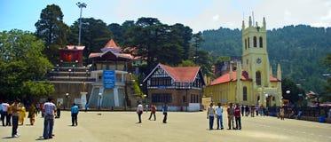 centrum handlowe Shimla Obraz Stock