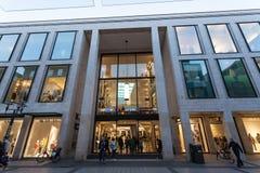 Centrum Handlowe w Munster, Niemcy Zdjęcie Stock