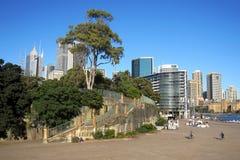 Centrum, het Vierkant van het Operahuis in Sydney Stock Fotografie
