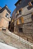 centrum historyczny Urbino Obrazy Royalty Free