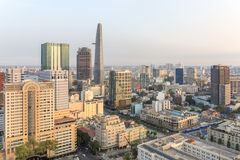 Centrum Ho Chi Minh miasto Obrazy Stock