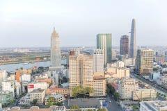 Centrum Ho Chi Minh miasto Zdjęcia Stock