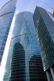 centrum interesów miasta nowych Moscow drapacze chmur zdjęcia stock