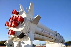 centrum Kennedy modela rakieta Saturn astronautyczny v obraz royalty free