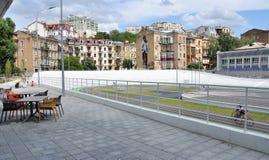 Centrum Kijów, cyklu ślad Zdjęcia Royalty Free