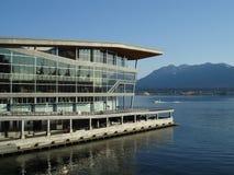 centrum konwencja nowy Vancouver obrazy stock