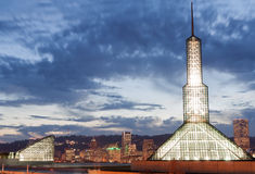 centrum konwencja Oregon Portland obraz royalty free