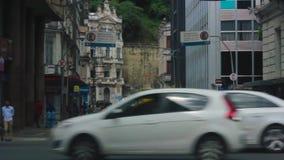 Centrum, lager deel van de stad, Verlosser Bahia stock videobeelden