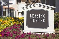 centrum leasing Zdjęcie Royalty Free