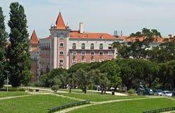 Centrum Lissabon Stock Afbeeldingen