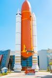 CENTRUM LOTÓW KOSMICZNYCH IMIENIA JOHNA F. KENNEDYEGO, FLORYDA, usa - KWIECIEŃ 21, 2016: Centrum Lotów Kosmicznych Imienia Johna  Obraz Stock