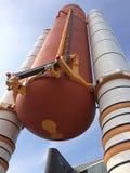 Centrum Lotów Kosmicznych imienia Johna F. Kennedyego rakieta Zdjęcie Stock