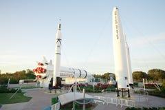 Centrum Lotów Kosmicznych imienia Johna F Przylądek Canaveral, Floryda, usa zdjęcie royalty free