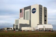 Centrum Lotów Kosmicznych Imienia Johna F. Kennedyego pojazdu zgromadzenie budynek Obraz Stock