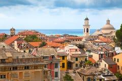 Centrum Miasta Chiavari, Włochy Zdjęcia Stock