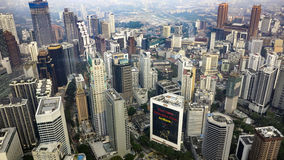 Centrum miasta Kuala Lumpur Fotografia Royalty Free