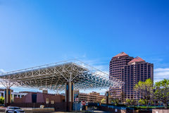 Centrum miasta nowy w centrum Albuquerque - Mexico Fotografia Stock