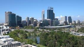 Centrum miasta Perth, Australia zbiory