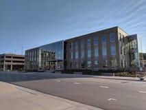 Centrum Miasta, Sioux spadki Zdjęcia Stock
