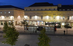 Centrum Miasta widok Obraz Royalty Free