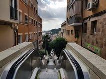 Centrum miasta widok od Barcelona Zdjęcia Royalty Free