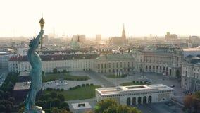 Centrum miasta Wiedeń w wczesnym poranku zbiory