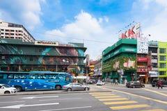 centrum miasto Kuala Lumpur Zdjęcie Stock